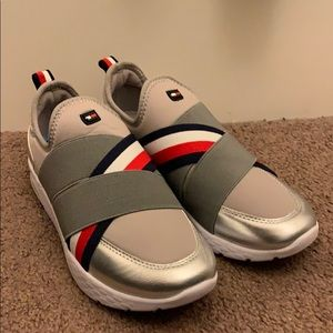 0c3b68f67e Grey Tommy Hilfiger Shoes With Blue